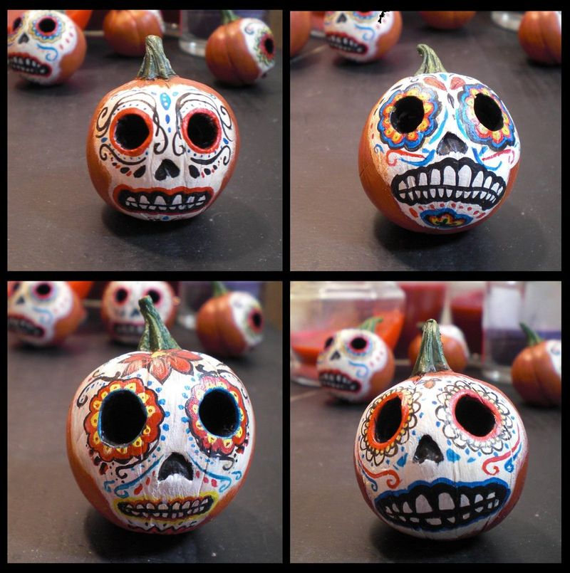 Day_of_the_dead_pumpkin_heads_by_flyingsaucerteacup-d2yb595